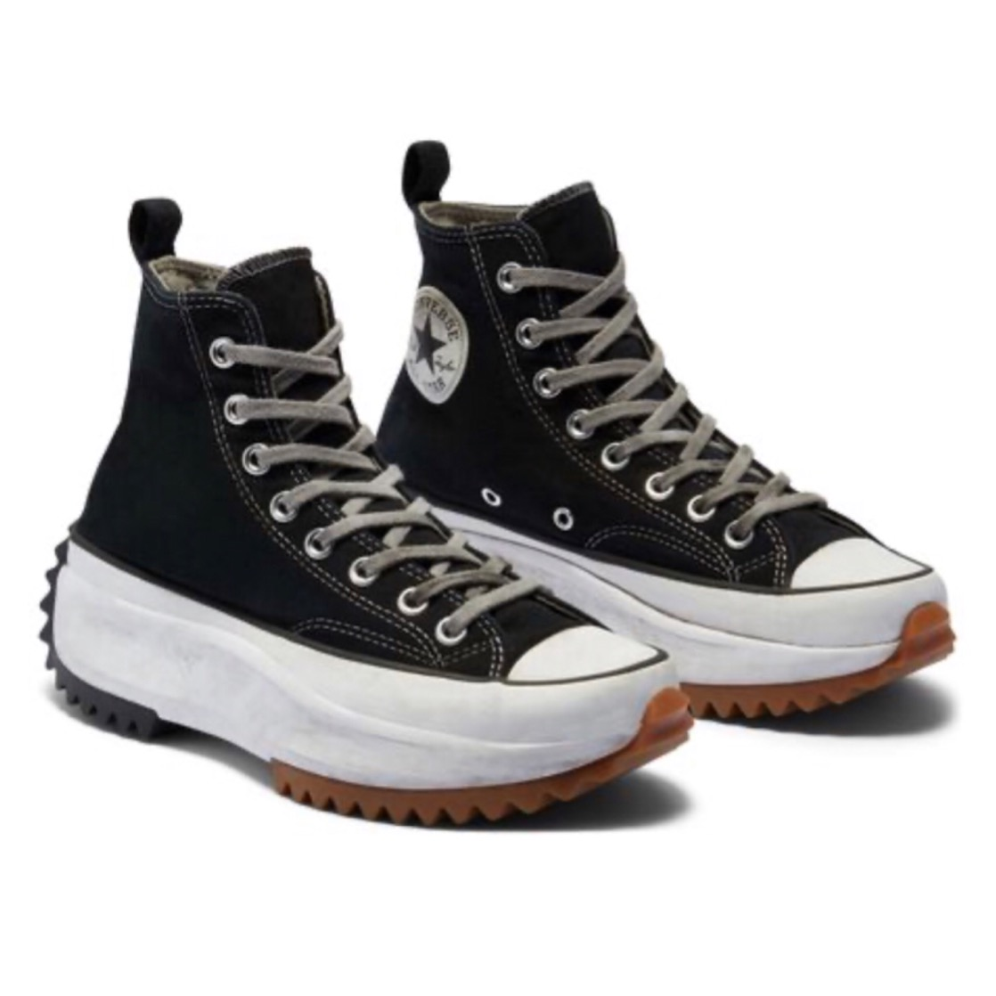 run star hike high top converse